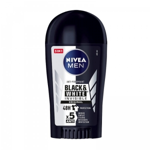 Men Black&White Invisible Original antyperspirant w sztyfcie 40ml