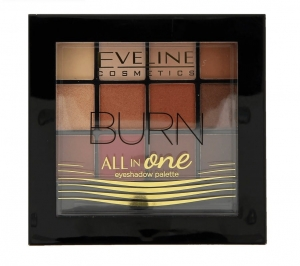 All In One Eyeshadow Palette paleta cieni do powiek 03 Burn 12g