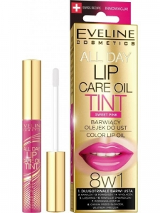 All Day Lip Care Oil Tint 8w1 barwiący olejek do ust Sweet Pink 7ml