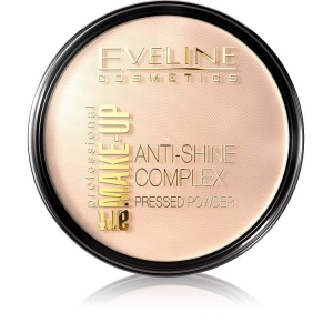 Art Make-Up Anti-Shine Complex Pressed Powder matujący puder mineralny z jedwabiem 32 Natural 14g