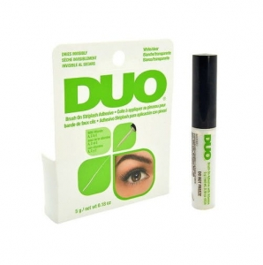Duo Brush On Striplash Adhesive klej do rzęs z pędzelkiem Clear 5g