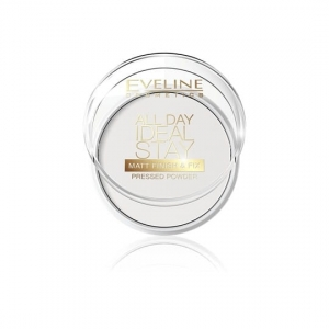 All Day Ideal Stay Matt Finish&Fix Pressed Powder matująco-utrwalający puder do twarzy 60 White 12g