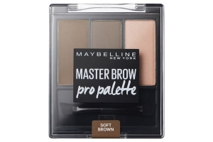 Master Brow Design Kit zestaw do brwi 3 Soft Brown 3,4g