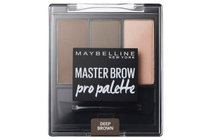 Master Brow Design Kit zestaw do brwi 4 Deep Brown 3,4g