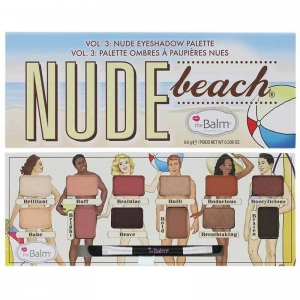 Nude Beach Eyeshadow Palette paletka cieni do powiek 9,6g