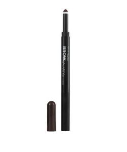 Brow Satin Duo Pencil kredka do brwi Black Brown 0.35g