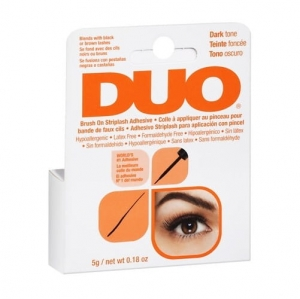 Duo Brush On Striplash Adhesive klej do rzęs z pędzelkiem Dark 5g