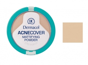 Acnecover Mattifying Powder puder matujący w kompakcie 04 Honey 11g