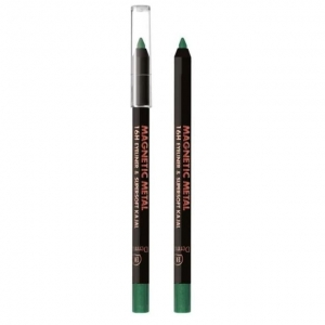 Magnetic Metal 16H Eyeliner & Supersoft Kajal metaliczna kredka do oczu 04 Green 2g