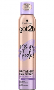 #Oh My Nude! pianka do włosów spray 250ml