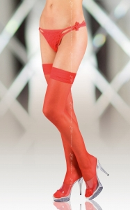 Stockings 5513 - red