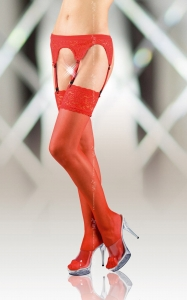 Stockings 5507 - red