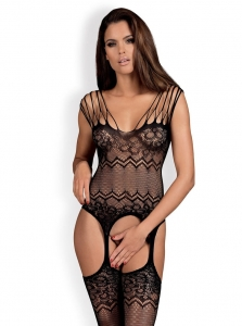 BODYSTOCKING G317 - body z rajstopami
