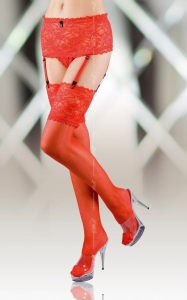 Stockings 5512 - red