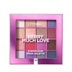 Berry Much Love Eyeshadow paleta cieni do powiek 02 17g