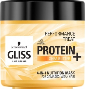 Performance Treat 4-in-1 Nutrition Mask maska odżywcza do włosów Protein + Shea Butter 400ml