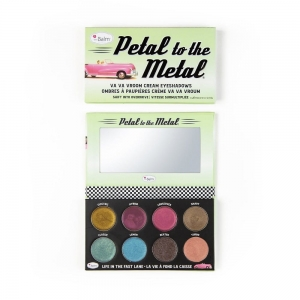 Petal To The Metal Va Va Vroom Cream Eyeshadow Palette paleta cieni do powiek Shift Into Overdrive 10.5g
