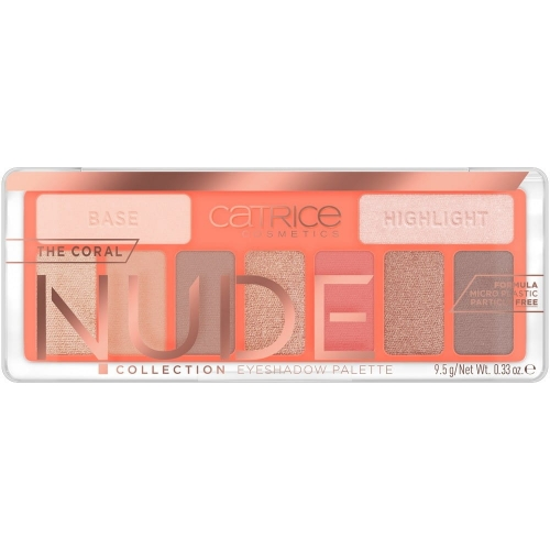 The Coral Nude Collection Eyeshadow Palette paleta cieni do powiek 010 Peach Passion 9.5g